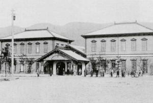 2代目敦賀駅舎(当時の様子)